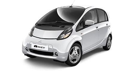 The i-MiEV Electric Car from Mitsubishi