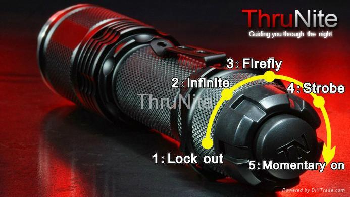 Thrunite flashlight